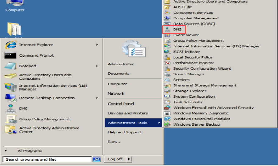 Training to Install Domain Name System (DNS) In Windows Server 2008 DNS 6