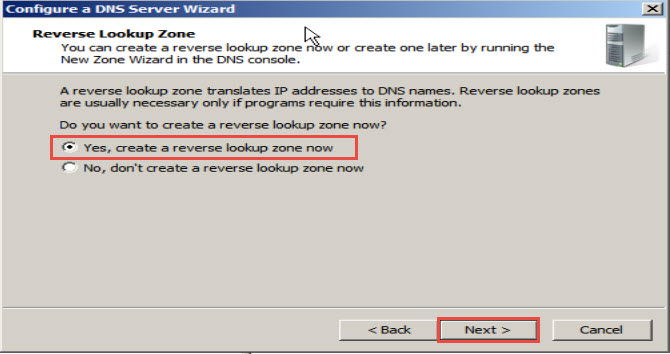 Training to Install Domain Name System (DNS) In Windows Server 2008 click next 13