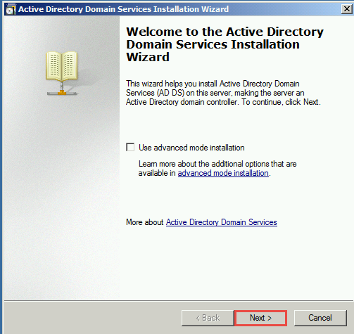 ADDS installation wizard Training to Install Read Only Domain Controller (RODC)