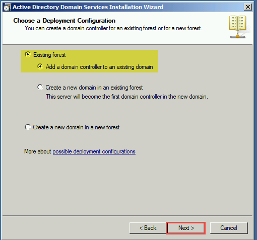 Training to Install Read Only Domain Controller (RODC) ADDS 5