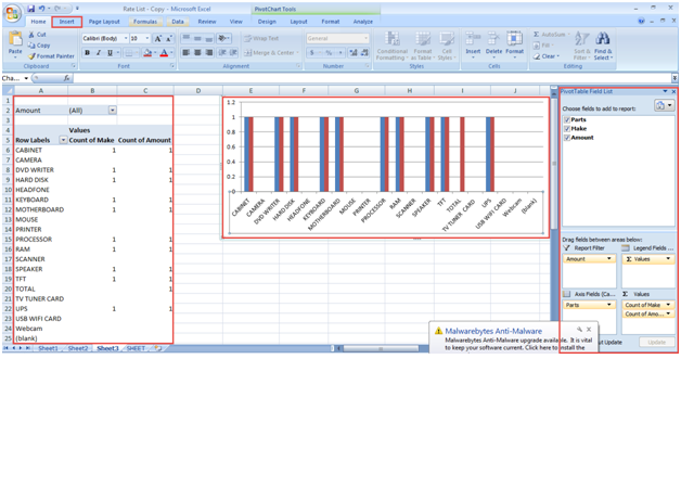 Pivot table and pivot chart in excel 2007 pdf
