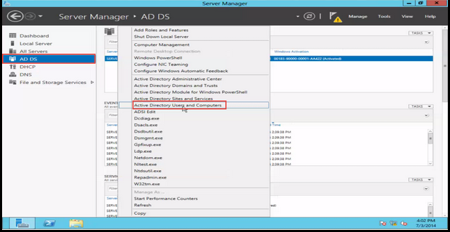 2 Active Directory User and Group