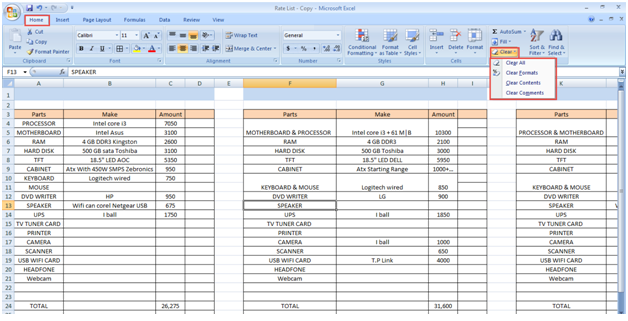 Microsoft excel – formulas tab – it computer training.