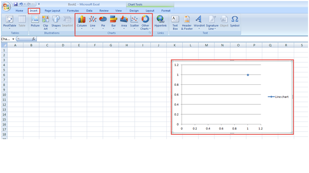 Excel 2007 training charts 5