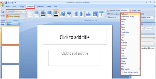 Free training how to use animation feature with every tool in powerpoint animation toneelgroepblik Choice Image
