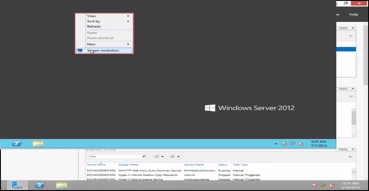 Training to Create MY Computer Shortcut in Windows Server 2012