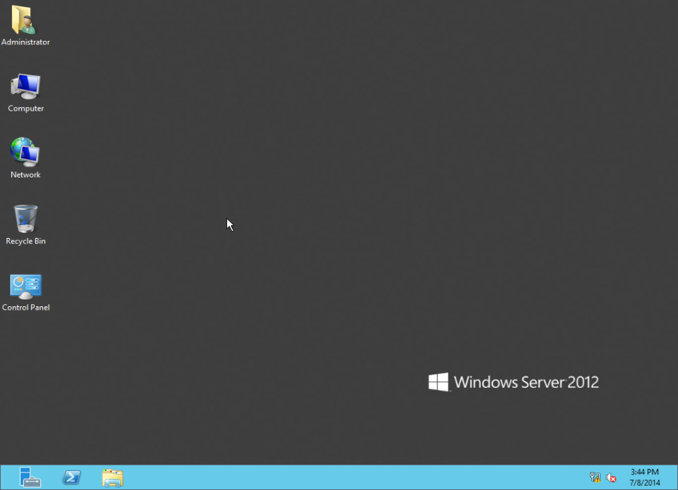 Training to Create MY Computer Shortcut in Windows Server 2012 server manager 11