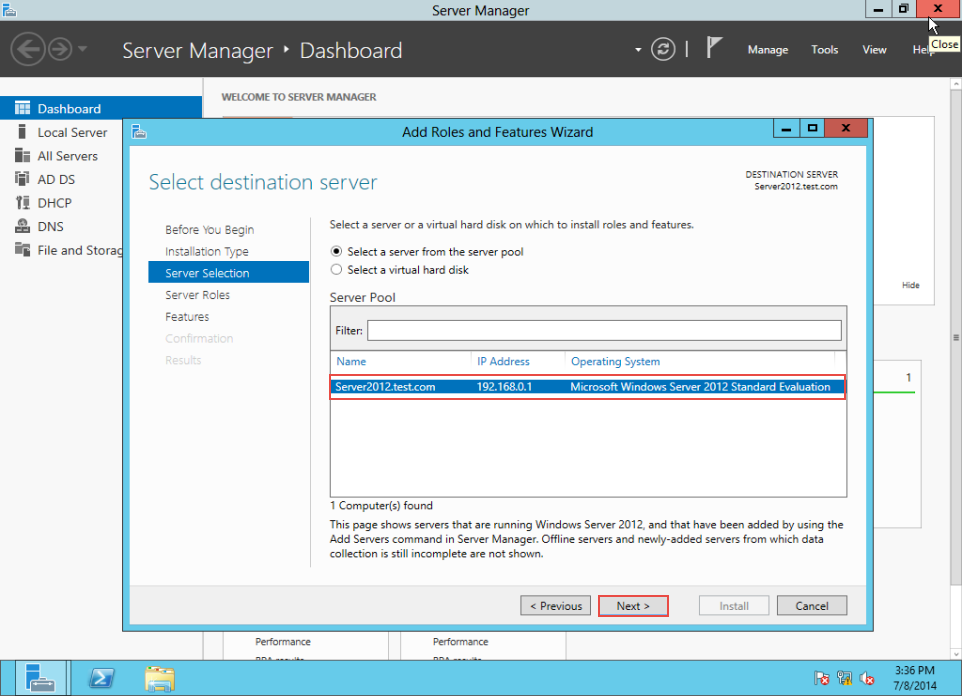 Training to Create MY Computer Shortcut in Windows Server 2012 server manager 5