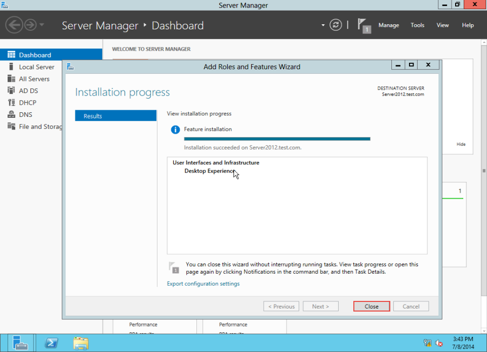 Training to Create MY Computer Shortcut in Windows Server 2012 server manager 9