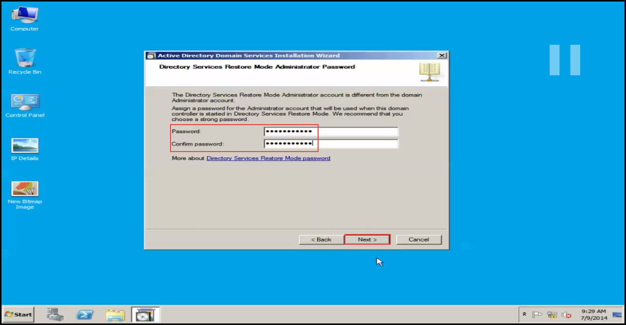 Training to Install Additional  Domain Controller in an Existing Forest directory service