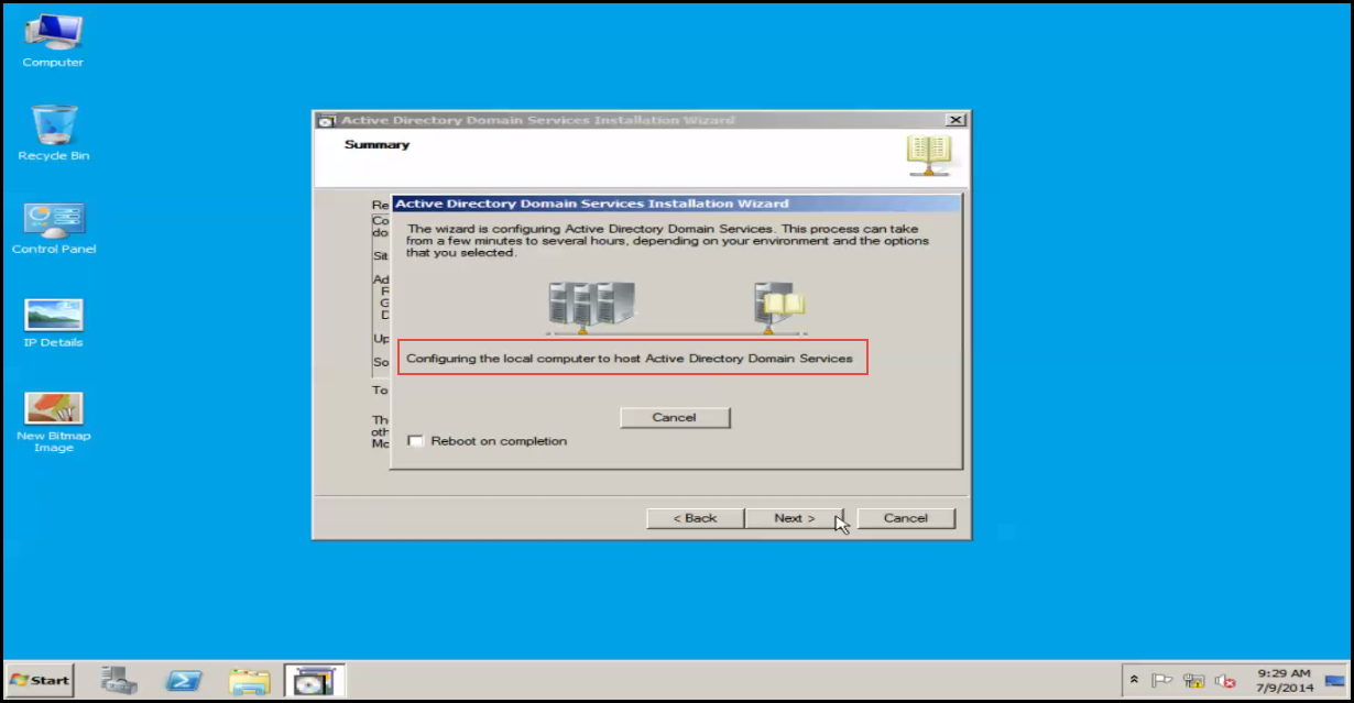 how to create additional domain controller in windows server 2012