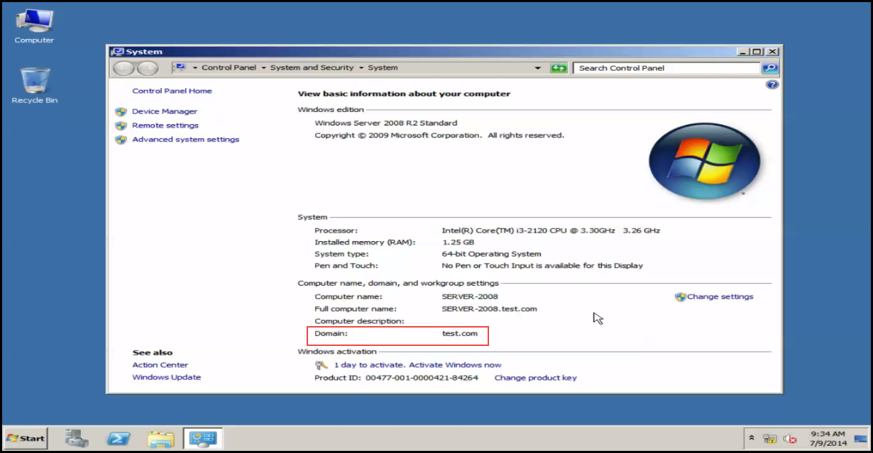 Training to Install Additional  Domain Controller in an Existing Forest system