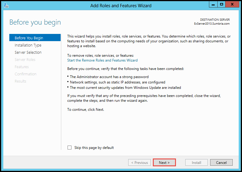 How to Install FTP Role on Windows Server 2012 (Part 3) add roles and features