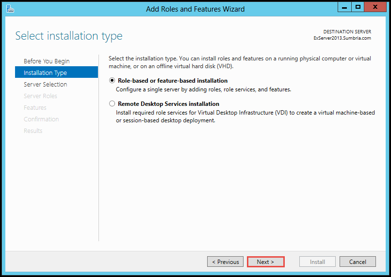 How to Install FTP Role on Windows Server 2012 (Part 3) add roles and feature 4